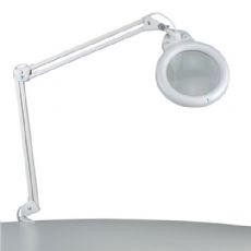 Daylight Ultra Slim Fluorescent Magnifying Lamp, wall or desk mounting