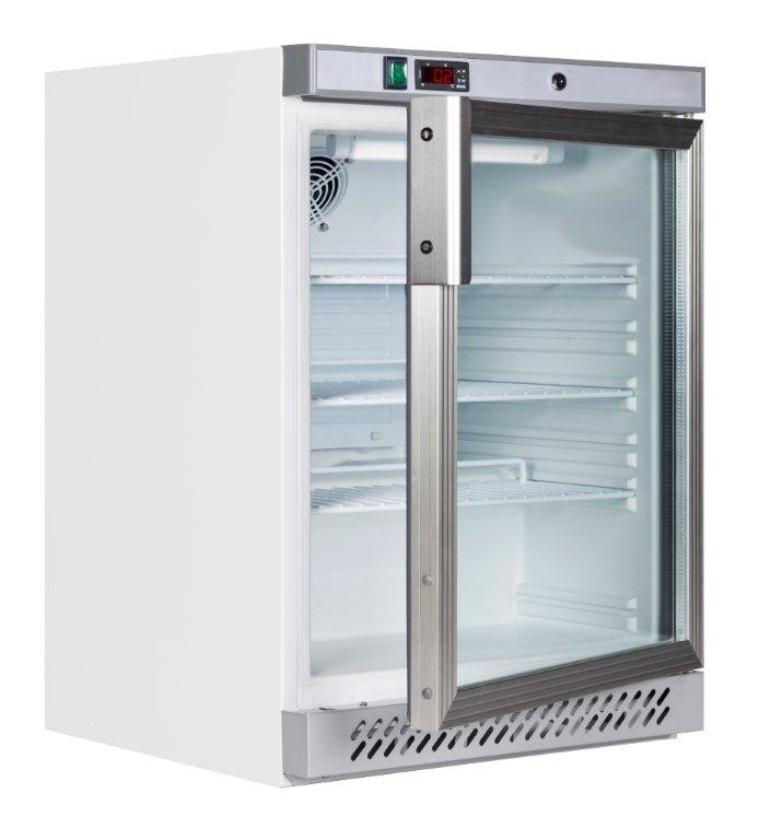 Swan 165GD Electronic Pharmacy Refrigerator - with Glass Door
