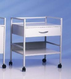 Select CliniLine Surgery Trolley with 2 Shelves and Drawer