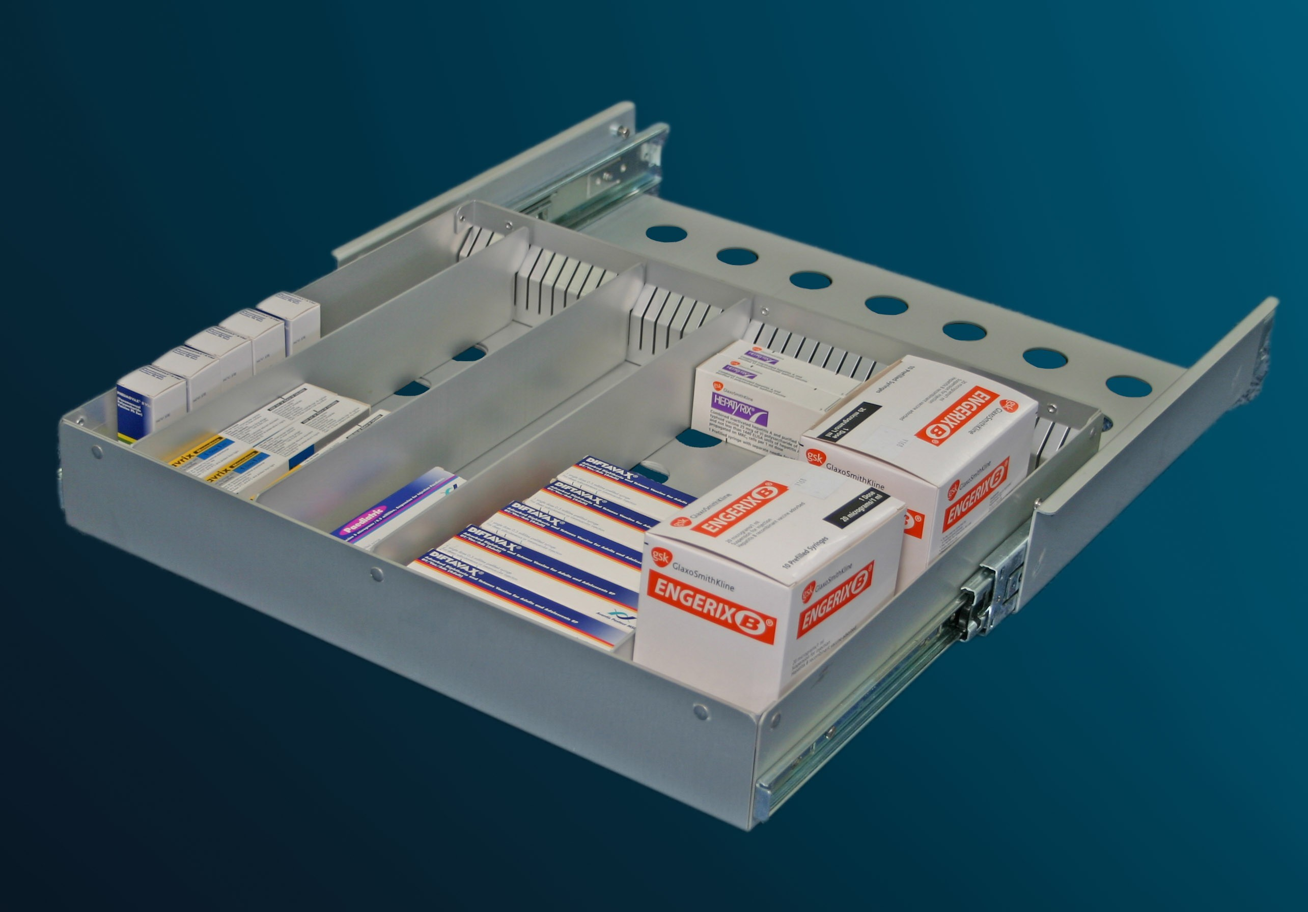 Labcold Divided Pharmacy Drawer System